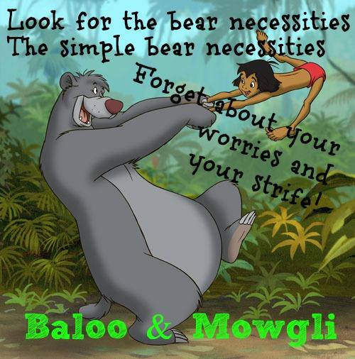 Bear Neccessities